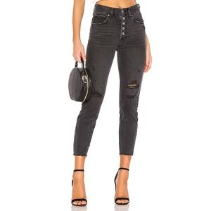 {Free People} Blossom Crop Skinny Jeans